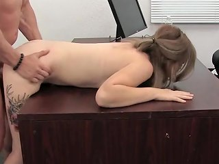 Cute Slut Gives Her Asshole To The Casting Agent