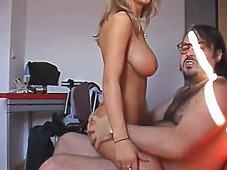 Poor Busty Blonde Fucked By Some Ugly Old Guy Torbe