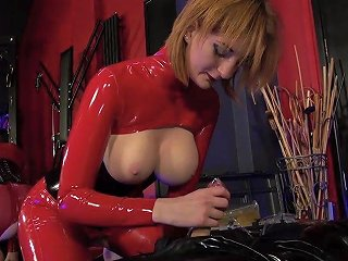Theenglishmansion Rubber Sack Having Intercourse And Inflation Hard Sex
