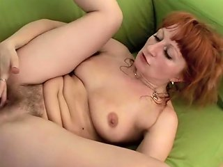 Hairy Bush Mom Gets Rough Fucked