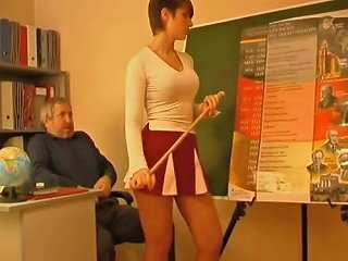 Tutor And The Cheerleader Free Pussy Licking Porn Video 6a