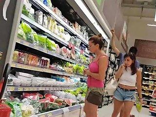 Braless Supermarket Amateur Hd Porn Video 6b Xhamster