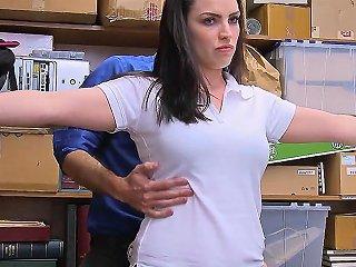 Employee Is Caught Stealing Fucks Boss