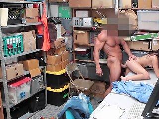 Thief Carolina Sweets Bend Over For Frisking Free Porn 7e