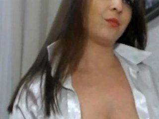 Silver Satin Blouse Collar Up Cam Free Porn 2a Xhamster