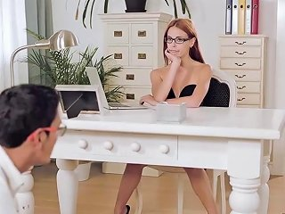 Sexy Susana Is Bent Over Her Office Desk Porn A3 Xhamster