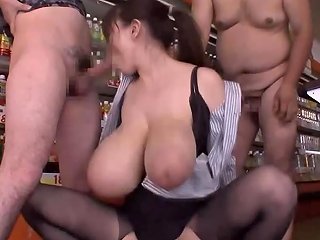 Top Heavy Work Load Slow Down Time With Huge Tits Porn 12