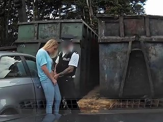 Cute Blonde Xena With Big Sexy Ass Railed Deep By Cop