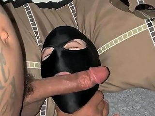 Bbc Face Fuck Made His Wife Wear A Mask