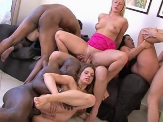 Mandy Saxo And Her Slutty Friends In A Hardcore Anal Orgy Any Porn