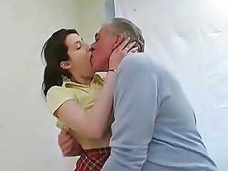 Dirty Old Man Fucks Young Tiffan