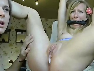 Tied Lesbian Extreme Shaking Orgasm Any Porn