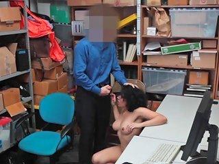 Security Guard Fuck Latina Teen Maya Morena To Set Her Porn Videos
