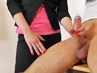 Mature Teacher Handjob Blowjob Long Red Nails 1 Txxx Com