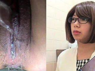 Asian Slut Pees In Toilet Nuvid
