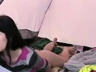 Teen Rubbing One Out In The Tent Drtuber