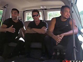 Redhead Teen Alexa Nova Gets In The Wrong Van With The Wrong Guys
