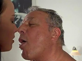 Caught Grandpa Having Sex With Young Brunette At Job Interview 124 Redtube Free Young And Old Porn
