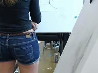The Hidden Camera Is Taping That Nice Ass Of A Sexy Babe
