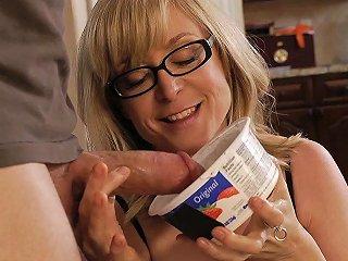 Mrs Hartley Catches Her Son's Friend Dane