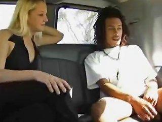 Black Jock Guy Gets In A Car Drtuber