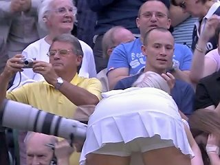 Sweaty Tennis Babe Bending Over After Match Free Porn D9