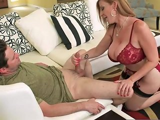 Redhead Step Mother Sara Jay In Stockings Wants Young Cock 124 Redtube Free Redhead Porn