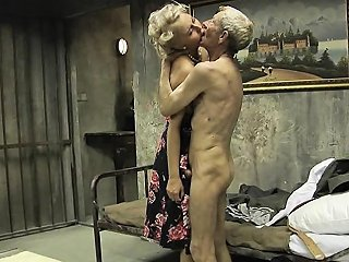 Big Boobs And Young Pussy For Lucky Old Man Nuvid