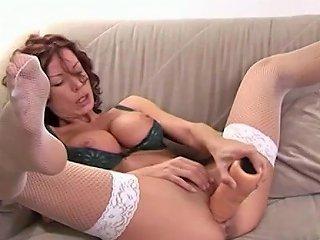 Redhead German Mom Rides Huge Dildos Porn B2 Xhamster