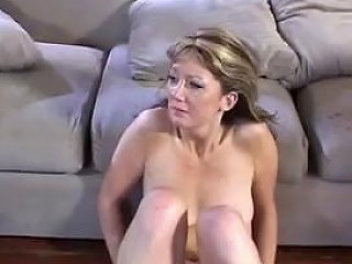 Triple Dick Stuffed Air Tight Mommy British Bitch By