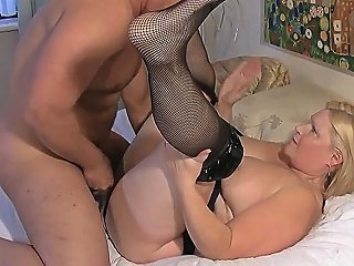 Grandmother In Stockings