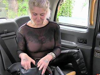 Fake Taxi Blonde Milf Gets Surprise Anal Sex Drtuber